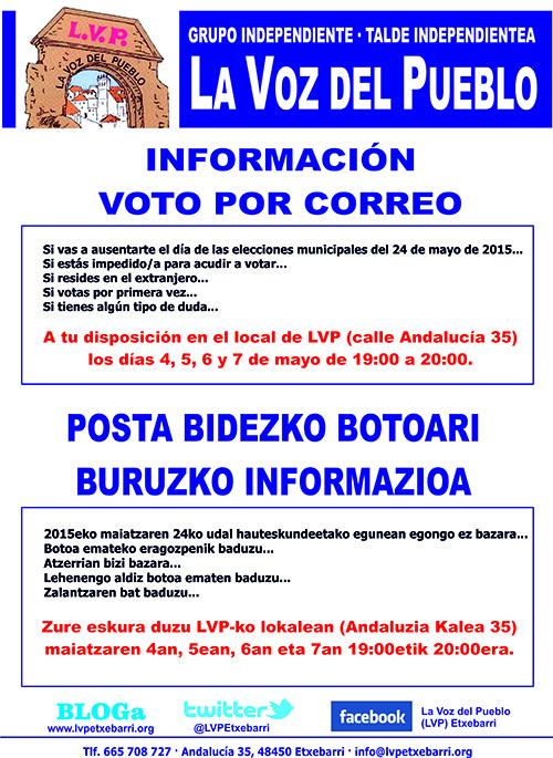 Voto por Correo 2015